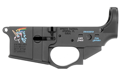 SPIKE'S STRIPPED LOWER (SNOWFLAKE) Color Filled